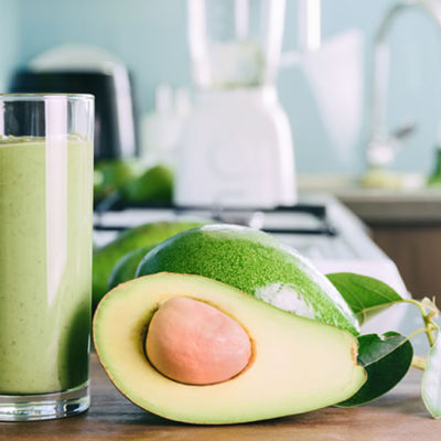 avocado cocconut smoothie