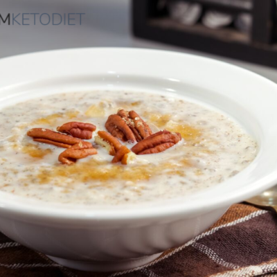 keto brown sugar cinnamon breakfast oats